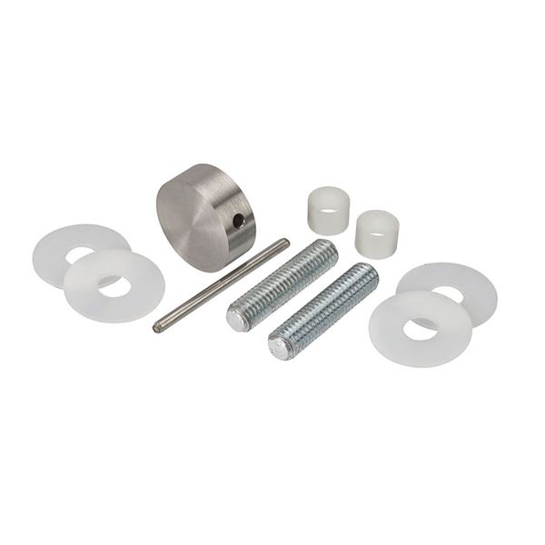0182228 - Bolt Through Disc Set -Satin Stainless Steel