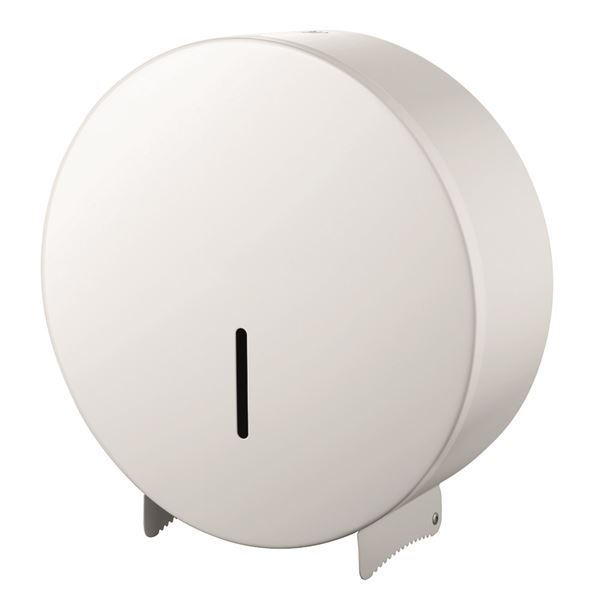 0302523 - Jumbo Toilet Roll Dispenser - White